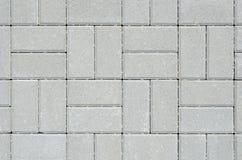 Texture of the concrete blocks. Texture of the floor of concrete blocks Stock Images