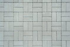 Texture of the concrete blocks. Texture of the floor of concrete blocks Stock Photography