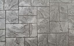 Texture concrete floor the walking in street royalty free stock photo