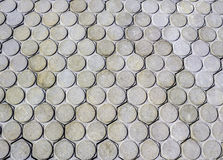 Texture of concrete pavement Royalty Free Stock Photography