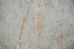 Texture of concrete and plaster on the wall. Old plaster stains on the concrete. Texture of old concrete wall and plaster. Texture of concrete and plaster on the stock images