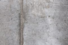 The texture of the concrete wall at the construction site. royalty free stock photos