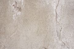 Texture of a concrete wall with cracks and scratches which can be used as a background. Texture, wall, concrete, it can be used as a background. Wall fragment stock image