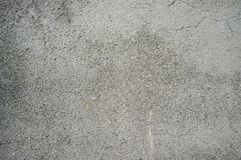 Texture of Concrete Wall exposed to Bad Weather for too Long royalty free stock image