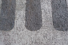 Texture concrete wall. Concrete surface with beautiful decorative inlay Stock Photos