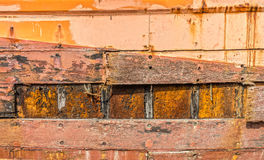 Texture of construction ruins Stock Photography