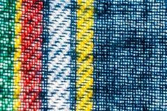 Texture, copie et wale de modèle de tissu Photo stock