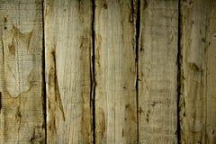 Texture a cor branca da parede de madeira com manchas marrons Fotos de Stock Royalty Free