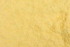 Texture of corn flour. Close up of a texture of corn flour royalty free stock photo