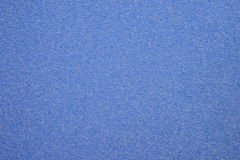 The texture of a cornflower blue cotton cloth Stock Image