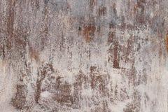 Texture corrodée et rouillée de porte en métal Images stock