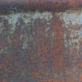 Texture corrodée par panneau de plaque métallique rouillé Image stock
