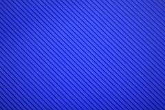 Texture of corrugated blue color paper Royalty Free Stock Photography