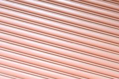 Texture corrugated metal sheet,Slide door ,steel door. Texture corrugated metal sheet,,steel door Stock Images