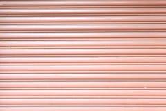Texture corrugated metal sheet,Slide door ,steel door Stock Photos