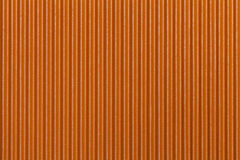 Texture corrugated orange paper. Striped background Stock Images