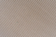 Texture of corrugated paper Royalty Free Stock Photo