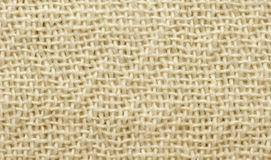Texture cotton canvas fabric Stock Images