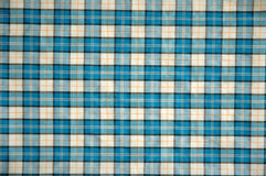 Texture of cotton cloth. Texture of blue  cotton cloth Stock Images