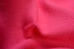 The texture of cotton cloth Stock Images