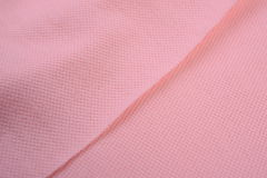 The texture of cotton cloth Stock Image