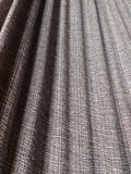 Texture of cotton fabric with shades and wavy. Cotton Fabric Texture Background with Shades and Wavy in Neutral Colors Royalty Free Stock Image