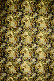 The texture of cotton fabric with small flowers Royalty Free Stock Photo