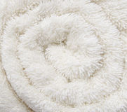 Texture cotton rolled terry cloth Stock Image