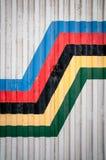 Texture, couleur et géométrie Photo libre de droits
