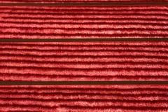 Texture couvrante rouge Photo libre de droits