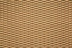 Texture crème de fond de la vannerie Photo libre de droits