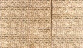 Texture crème de haute résolution de mur de briques Images libres de droits