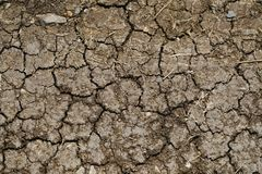Texture of crack dry solid. Texture dry soild. Soilded broken Royalty Free Stock Photography