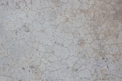 Texture crack old cement wall Stock Photography