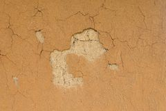 Texture of crack soil wall Royalty Free Stock Photos