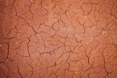 Texture cracked clay surface. Adobe african buildind wall.  stock images