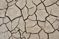Texture cracked, dry the surface of the earth. Earth  turned into a desert. Global warming, drought Stock Photos