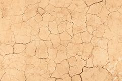 The texture of cracked earth when drying up water bodies. Background image texture. Template to use as a background. Place for text royalty free stock photo