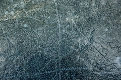 Texture of cracked ice on lake Stock Image