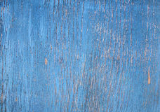 Texture - cracked paint on a wooden surface Royalty Free Stock Photo