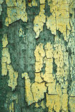 Texture of cracked painted surface Stock Photos