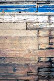 Texture of cracked rough wood surface painted. Texture of cracked old rough wood surface painted Stock Photo