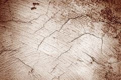 Texture of cracked wall Stock Image