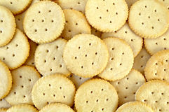 Texture of crackers Royalty Free Stock Photos
