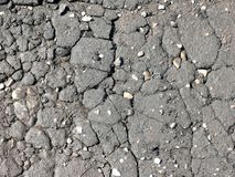 Texture. Cracks. Asphalt. Royalty Free Stock Photo