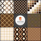 Texture of a crate by color beige and brown Stock Photo