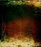 Texture criquée colorée de cru grunge. Photo libre de droits
