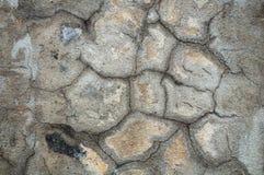 Texture criquée de mur Images stock