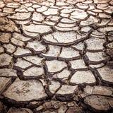 Texture criquée de sol Images libres de droits