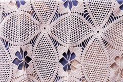 Texture crochet Stock Image